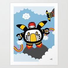 robot robot robot.... Art Print