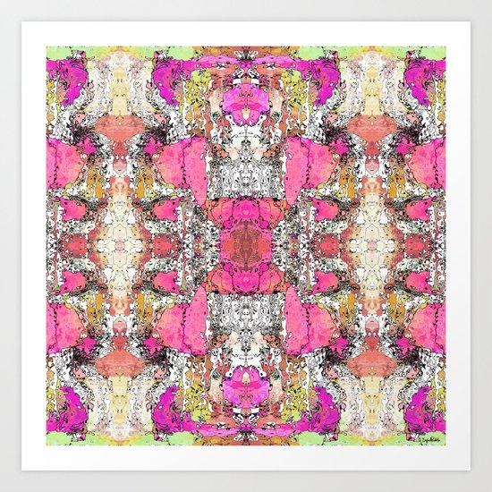 Twinge Art Print