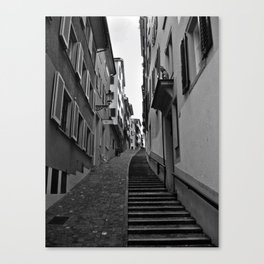 Swiss Alley Canvas Print