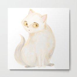 cat d Metal Print