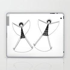 Snow angels Laptop & iPad Skin