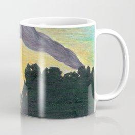 Ash Sunset in the Land of the Midnight Sun Coffee Mug