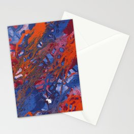 Abstract Hiraeth Stationery Cards