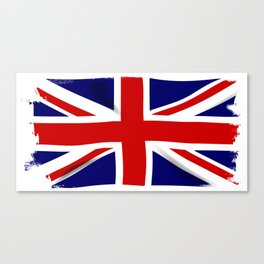 Union Jack Grunge Canvas Print