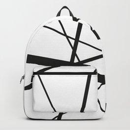 Mikado Sticks - stripes white Backpack