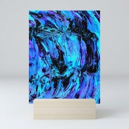 Swirling in my Insanity Mini Art Print