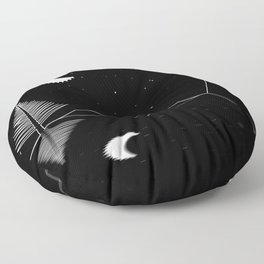 Night Ride Floor Pillow