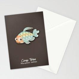 Congo tetra fish Stationery Cards