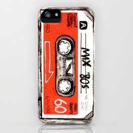 mixtape 80s iPhone Case