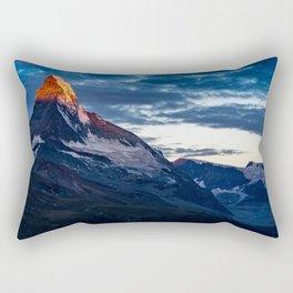 Zermatt, Switzerland #society6 #decor #buyart Rectangular Pillow