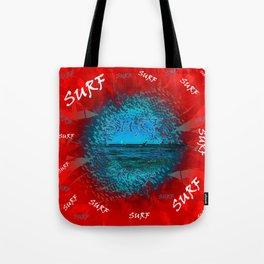 Surf #### Tote Bag