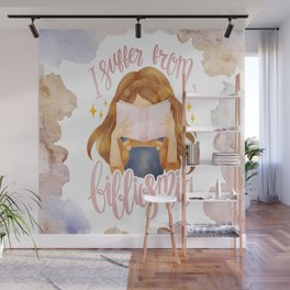 I SUFFER FROM BIBLIOSMIA Wall Mural