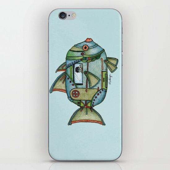 Aqua Gypsy iPhone Skin