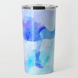 Abstract Camel Travel Mug