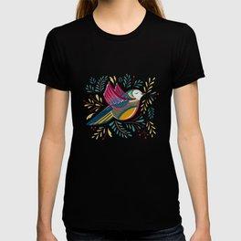 Peace Bird   Navy T-shirt