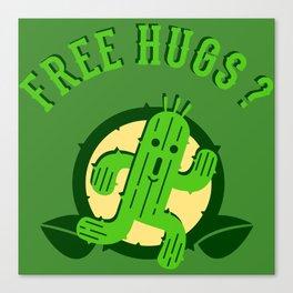 Free Hugs II Canvas Print