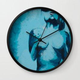 Exposure (Blue) Wall Clock