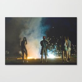 july 4th Canvas Print