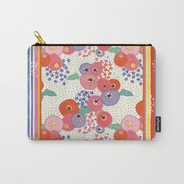 Floral rug Carry-All Pouch