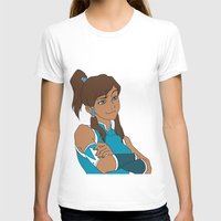 korra T-shirts featuring Korra by Nicky Severein