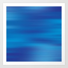 True Blue  Art Print
