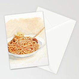 Pasta love Stationery Cards