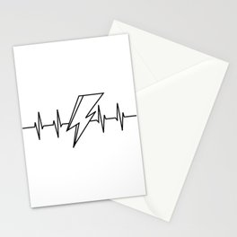 Bowie Heartbeat Stationery Cards