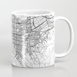 Taipei White Map Coffee Mug