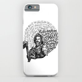 The Impossible Dream iPhone Case