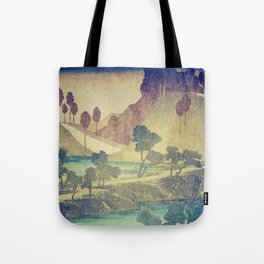 A Valley in the Evening Tote Bag