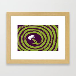 Decaying Snake Framed Art Print