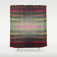 rug Shower Curtains featuring Rug by SensualPatterns