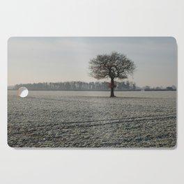 Winter in Yorkshire Cutting Board
