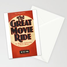 Great Movie Ride TCM Poster Stationery Cards