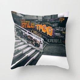 Graffiti II Throw Pillow