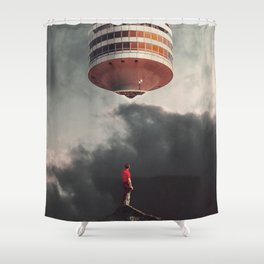 They have Always been Here Shower Curtain