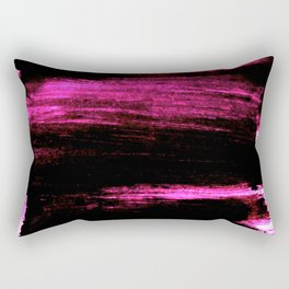 black and pink Rectangular Pillow