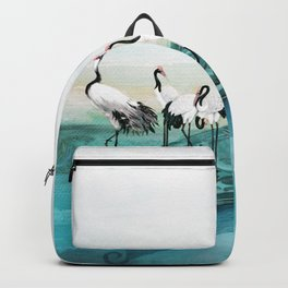 White Cranes Backpack