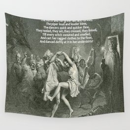 Tam O'Shanter Burns Night Celebrations Wall Tapestry