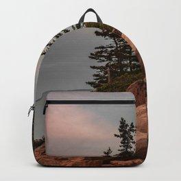 Acadia National Park Bass Harbor Head Lighthouse Maine Print Backpack
