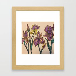 Gather together Framed Art Print