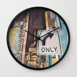 47 street Wall Clock