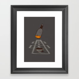 Hop Scotch Framed Art Print