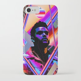 The Weeknd Trippy iPhone Case