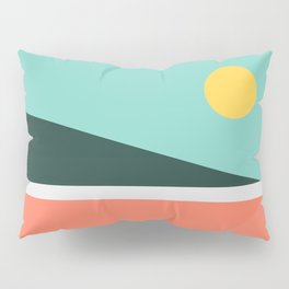 Geometric Landscape 15 Pillow Sham