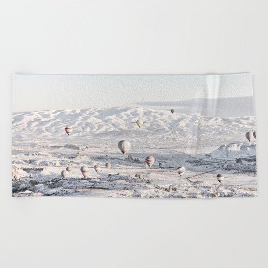 Air Balloons #society6 #art #buyart Beach Towel