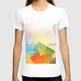 Cubism Abstract 191 T-shirt