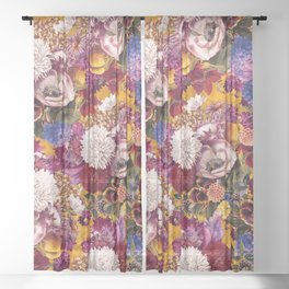 EXOTIC GARDEN XIII Sheer Curtain