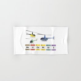 Civil Light Helicopters Chemistry Hand & Bath Towel