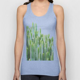 Cactus summer watercolor Unisex Tank Top